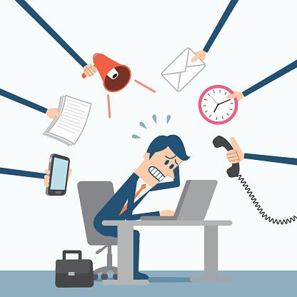 Free work cliparts download. Stress clipart job stress