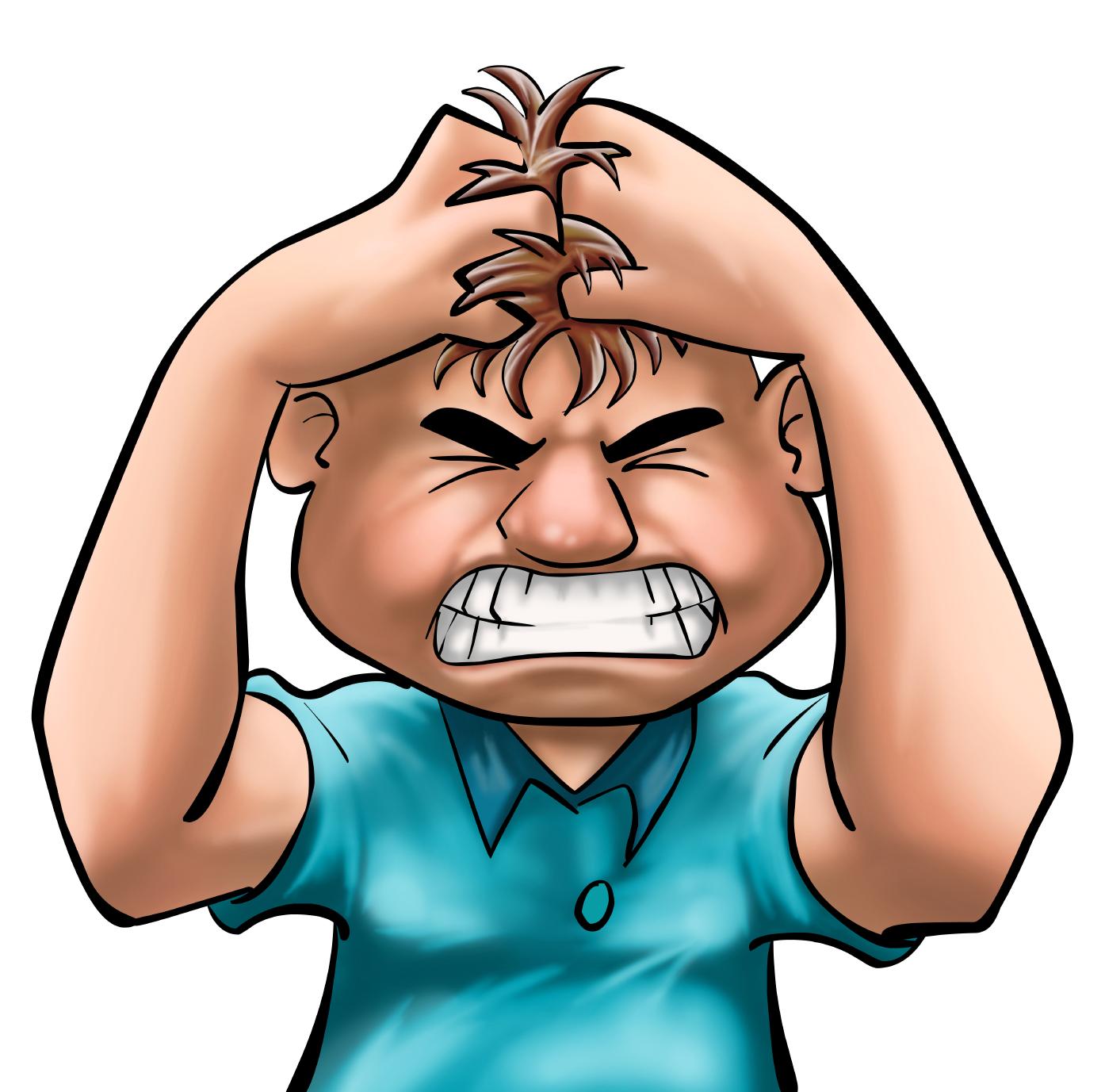 Stress clipart mental stress. Free download clip art