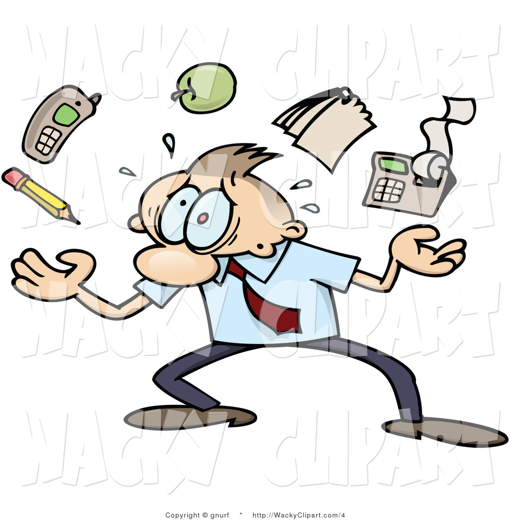 Stress clipart overwhelmed.  stressed out clipartlook