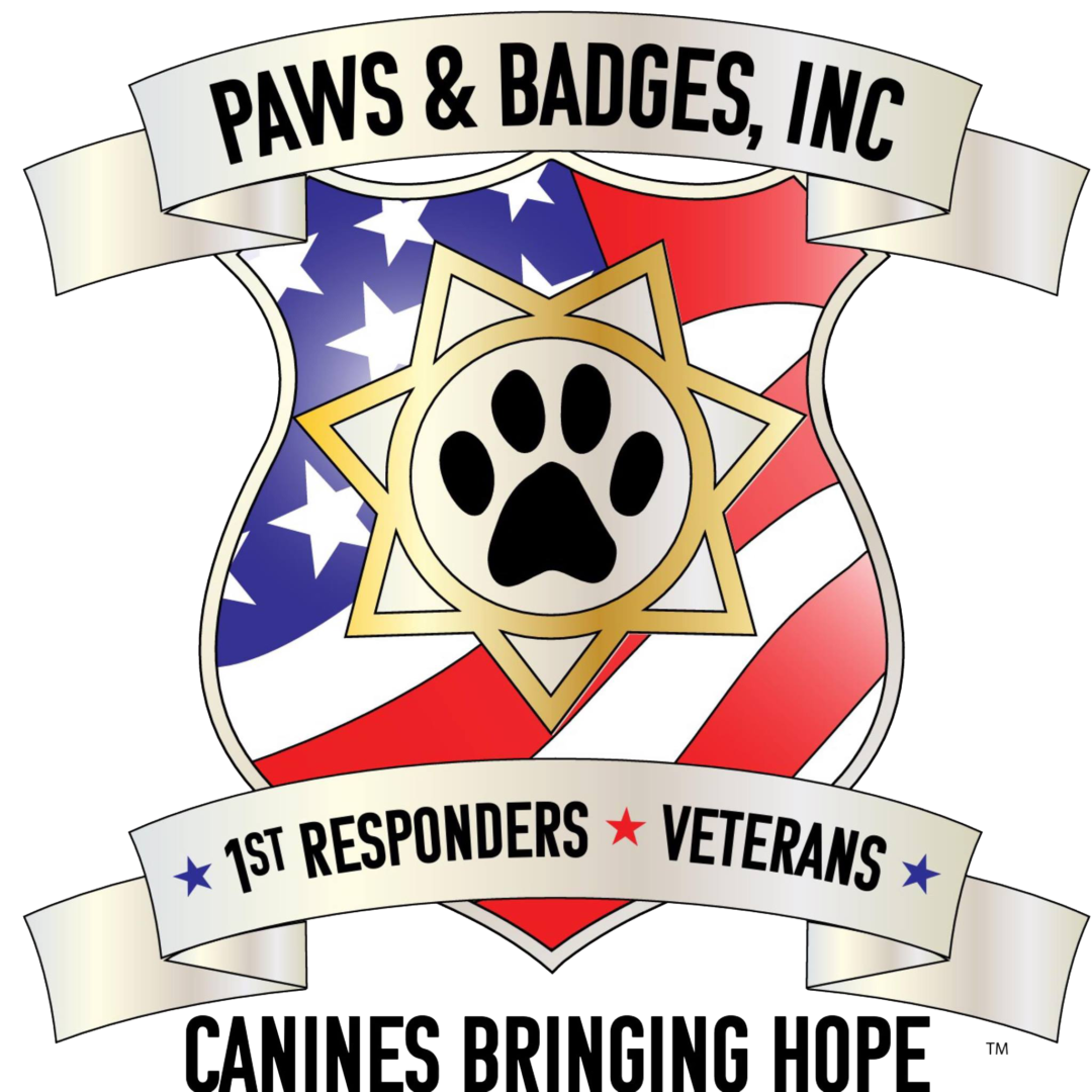 Stress clipart ptsd. Paws and badges