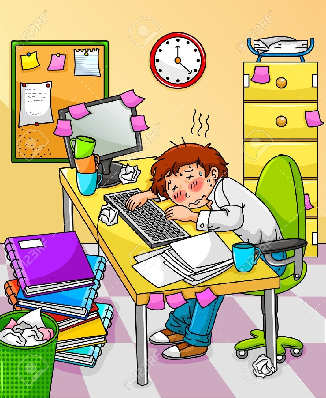 Stressed clip art library. Stress clipart stress student