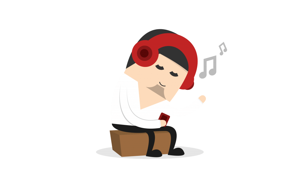 Music works wonders the. Stress clipart stress word