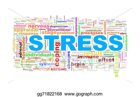 Stock illustrations wordcloud tags. Stress clipart stress word