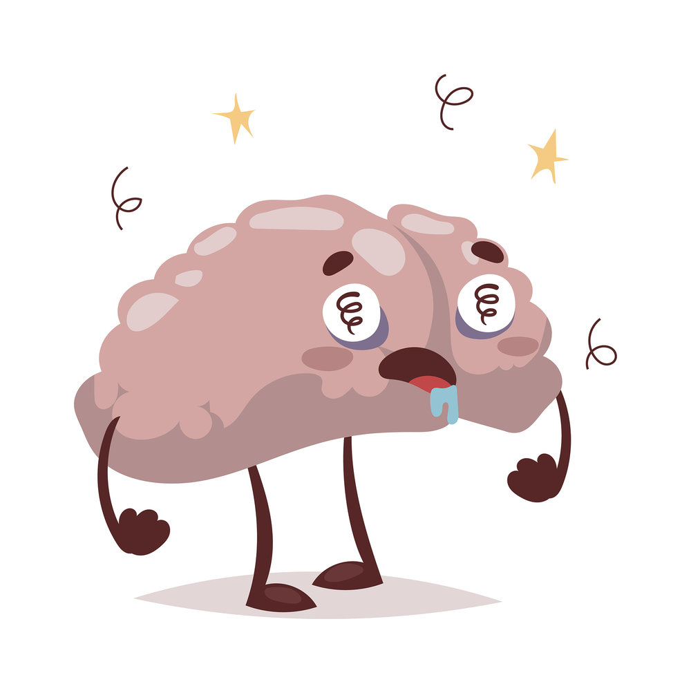 Stress clipart stressed brain.  effects of chronic