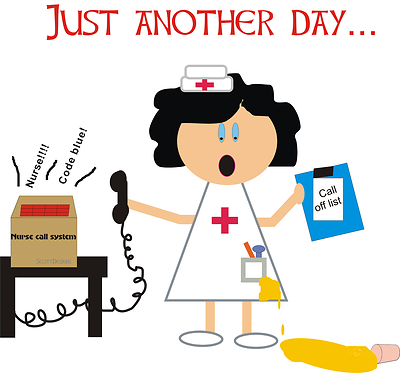 Animated free download best. Stress clipart stressed nurse