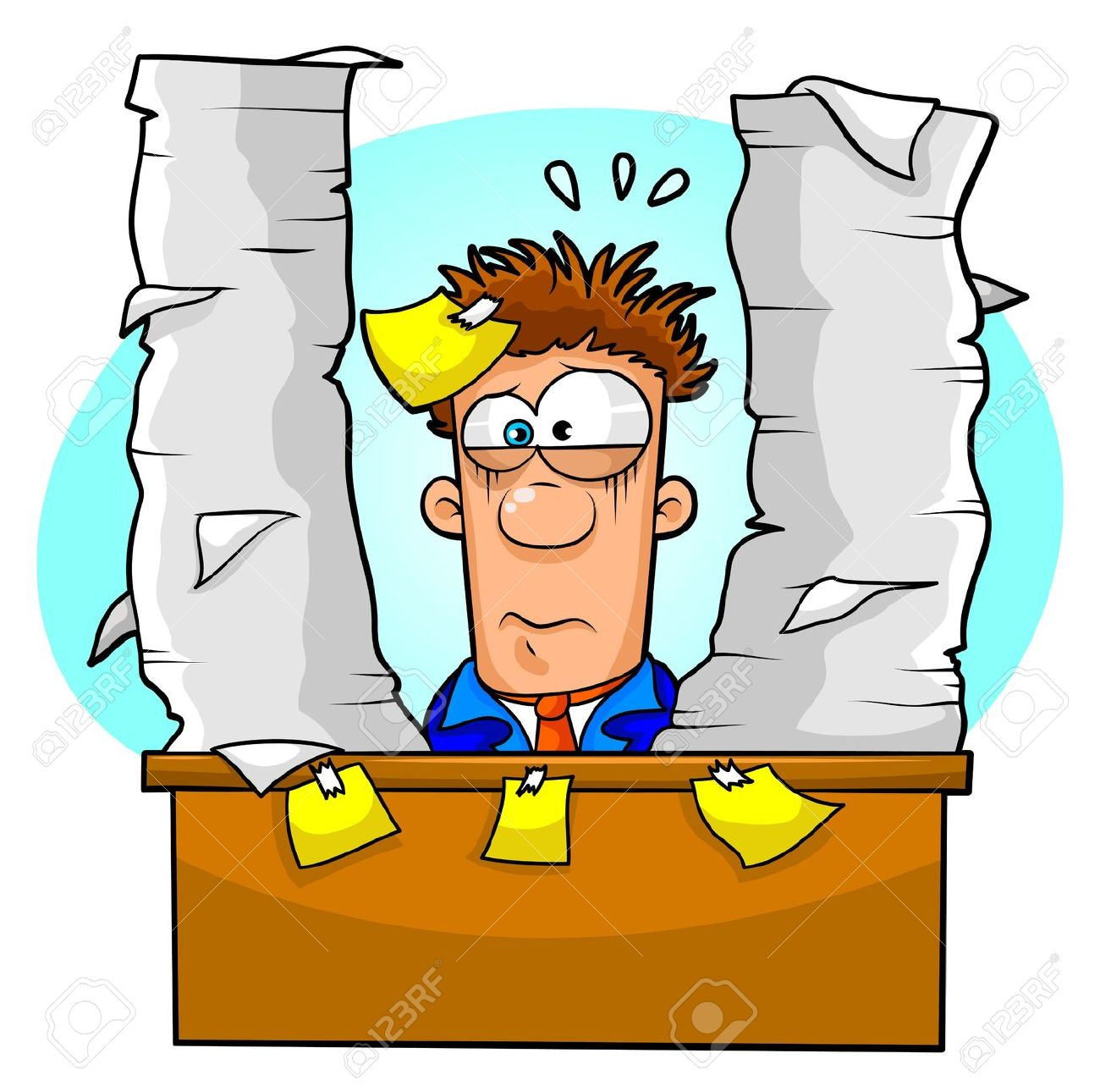 Images of stressed out. Stress clipart tired