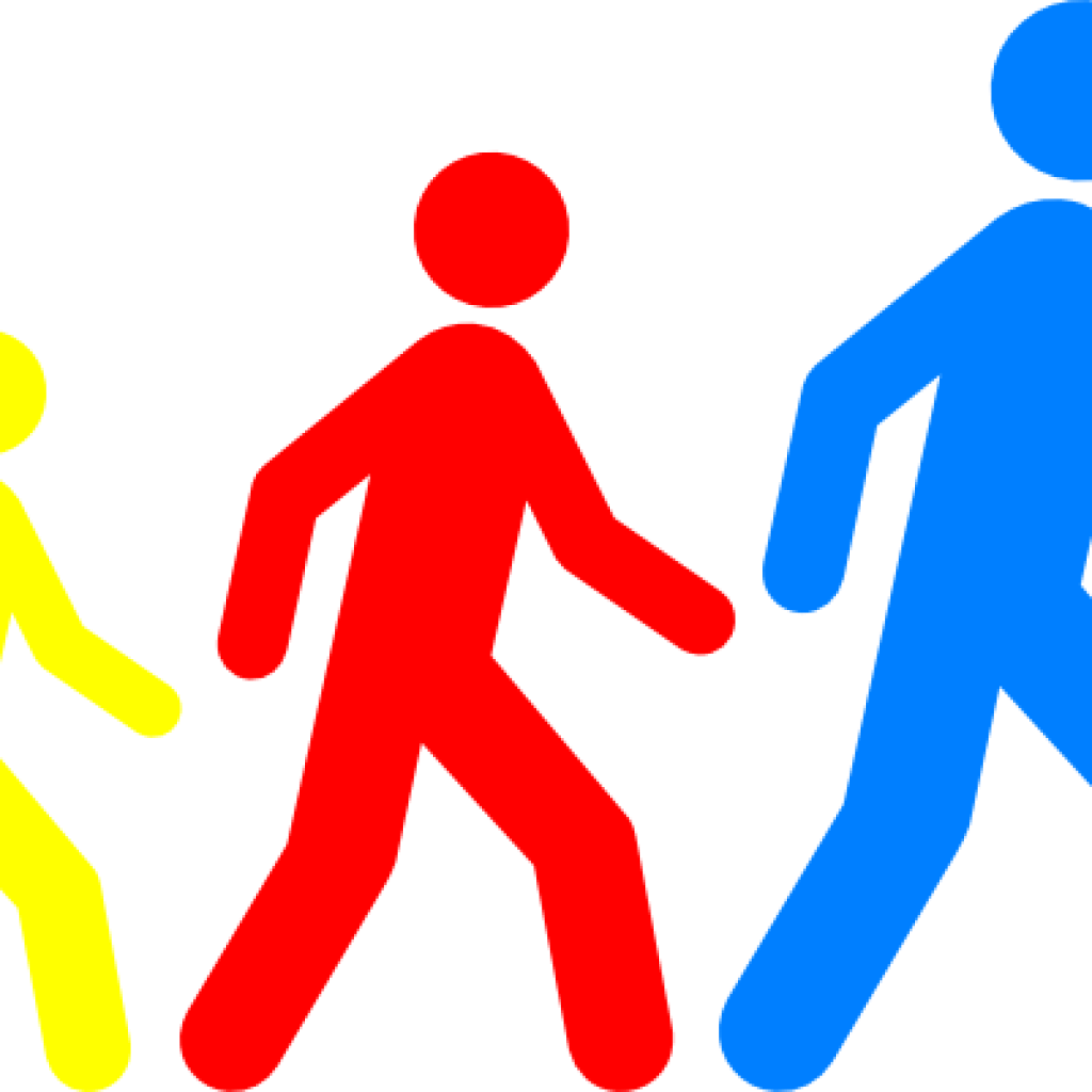 Student clipart walking. Th of july hatenylo