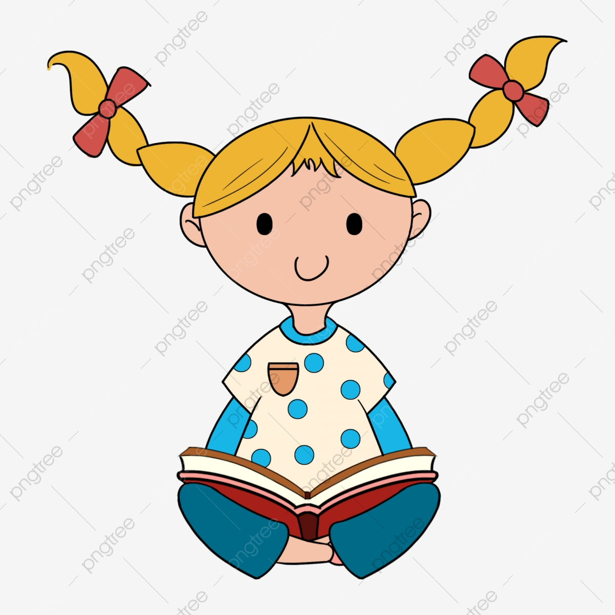 Study clipart cute. Reading summer child learn