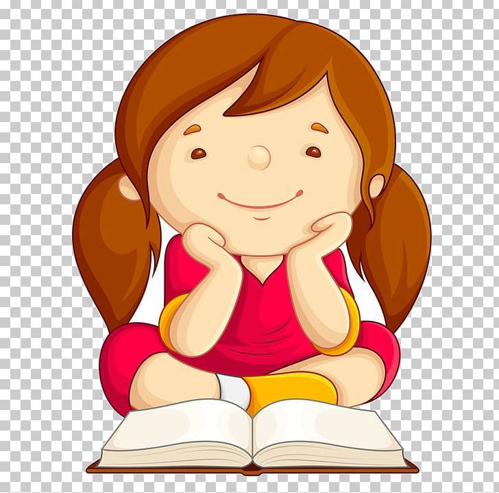 Child skills png cartoon. Study clipart hit the book