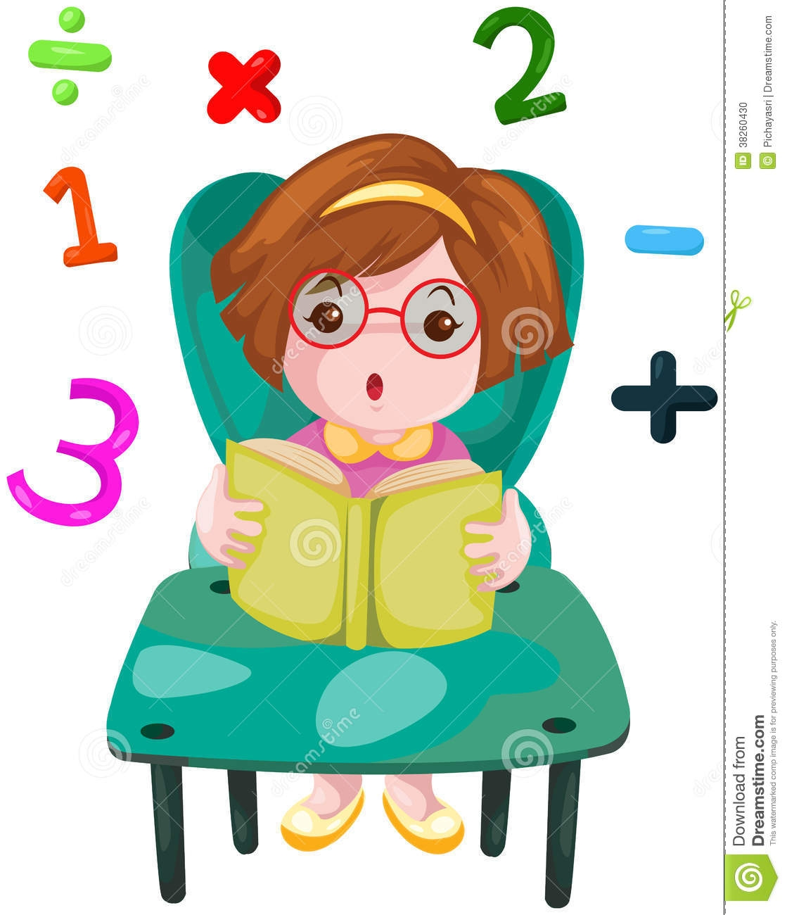 Study clipart mathematics book. Studying free download best