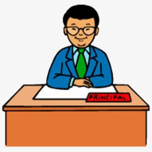 School and moderator transparent. Study clipart principal