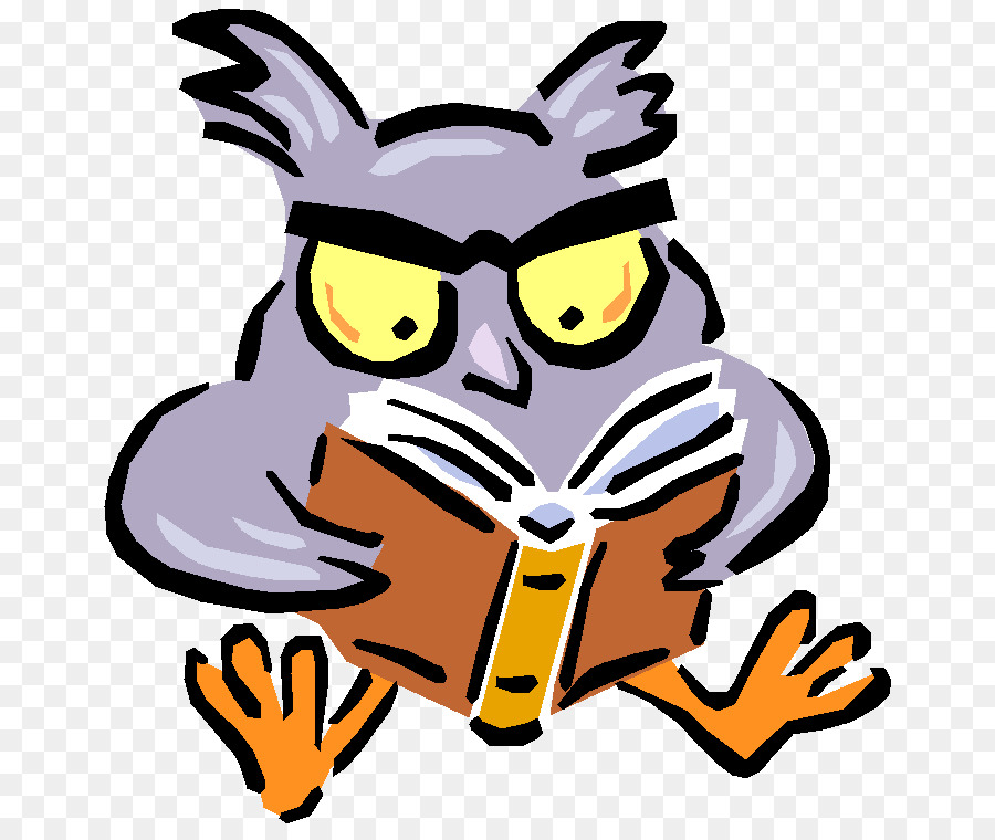 Study clipart study guide. Cartoon book reading transparent