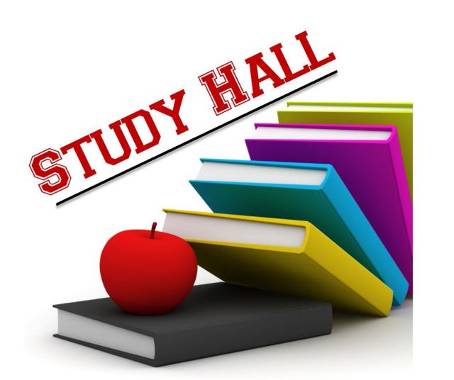 Portal . Study clipart study hall