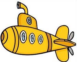 Submarine clipart. Free