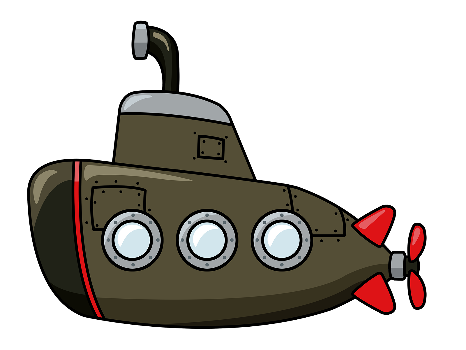 Submarine clipart. Panda free images conklin