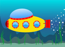 Submarine clipart. Free clip art pictures