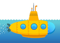 Free clip art pictures. Submarine clipart