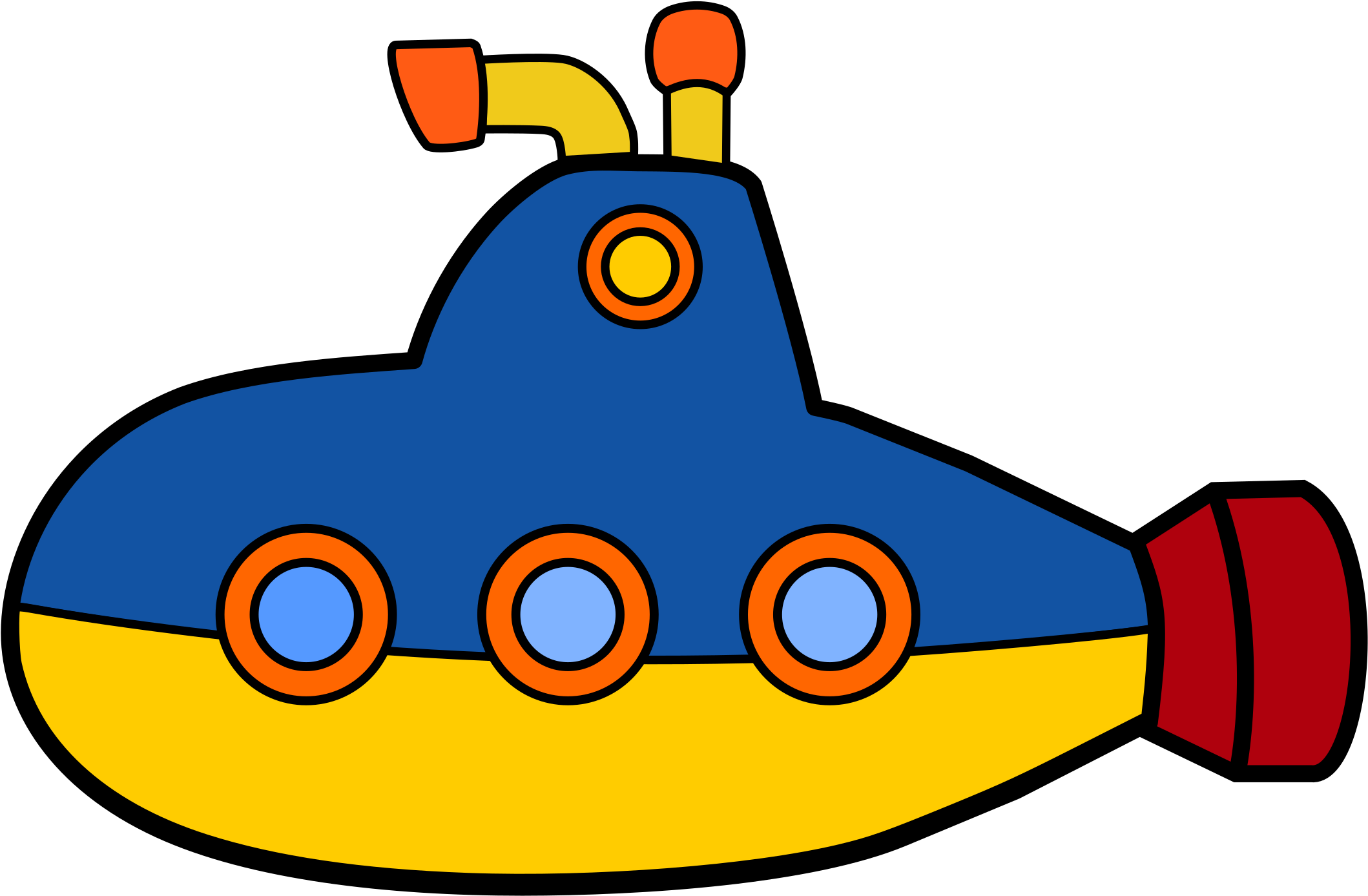 Png full . Submarine clipart transparent background