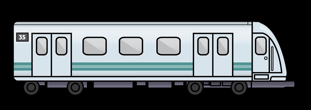 Clipart png train. Subway clip art free