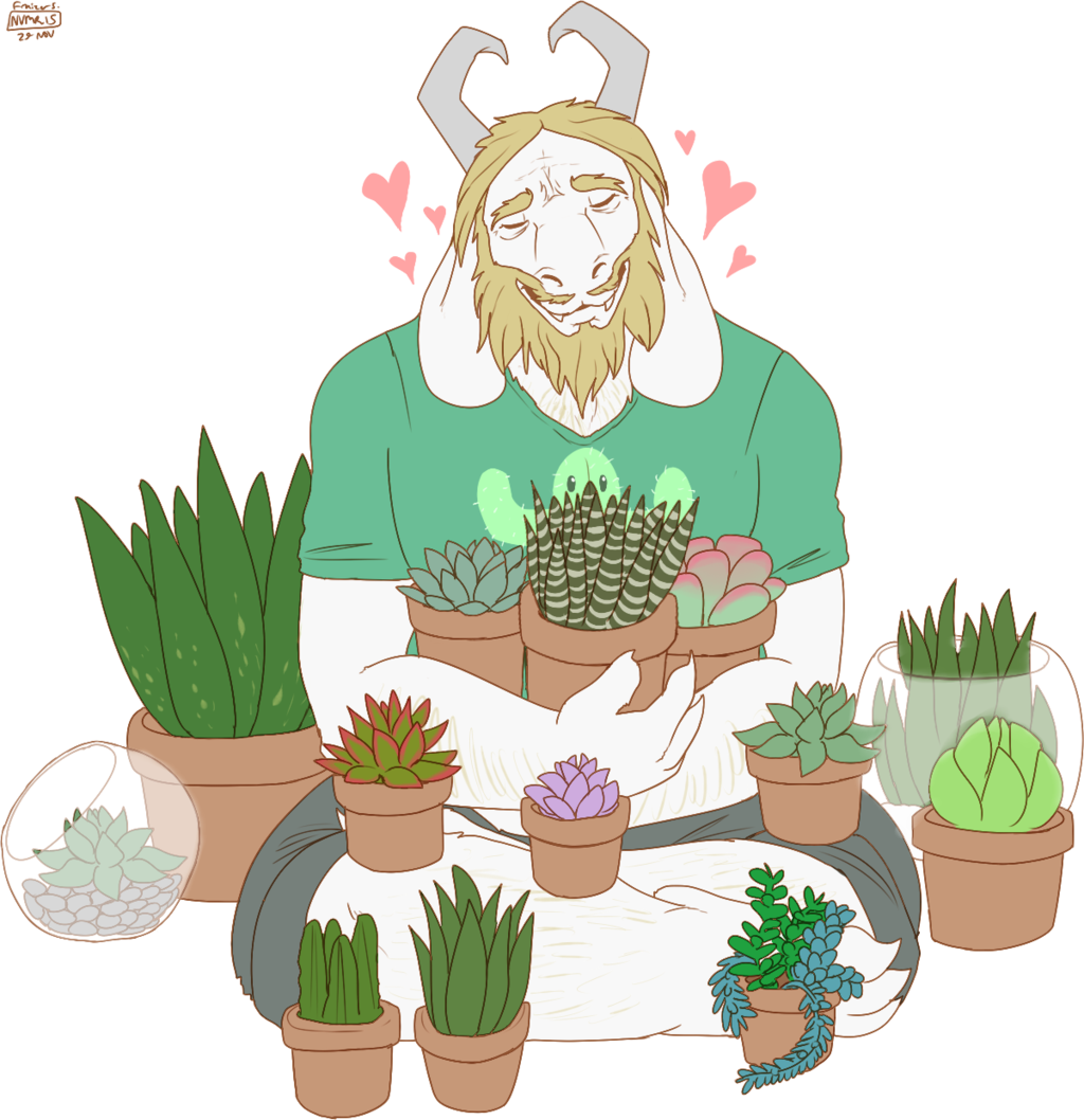 Succulent clipart drawn. Plants by saintnevermore on