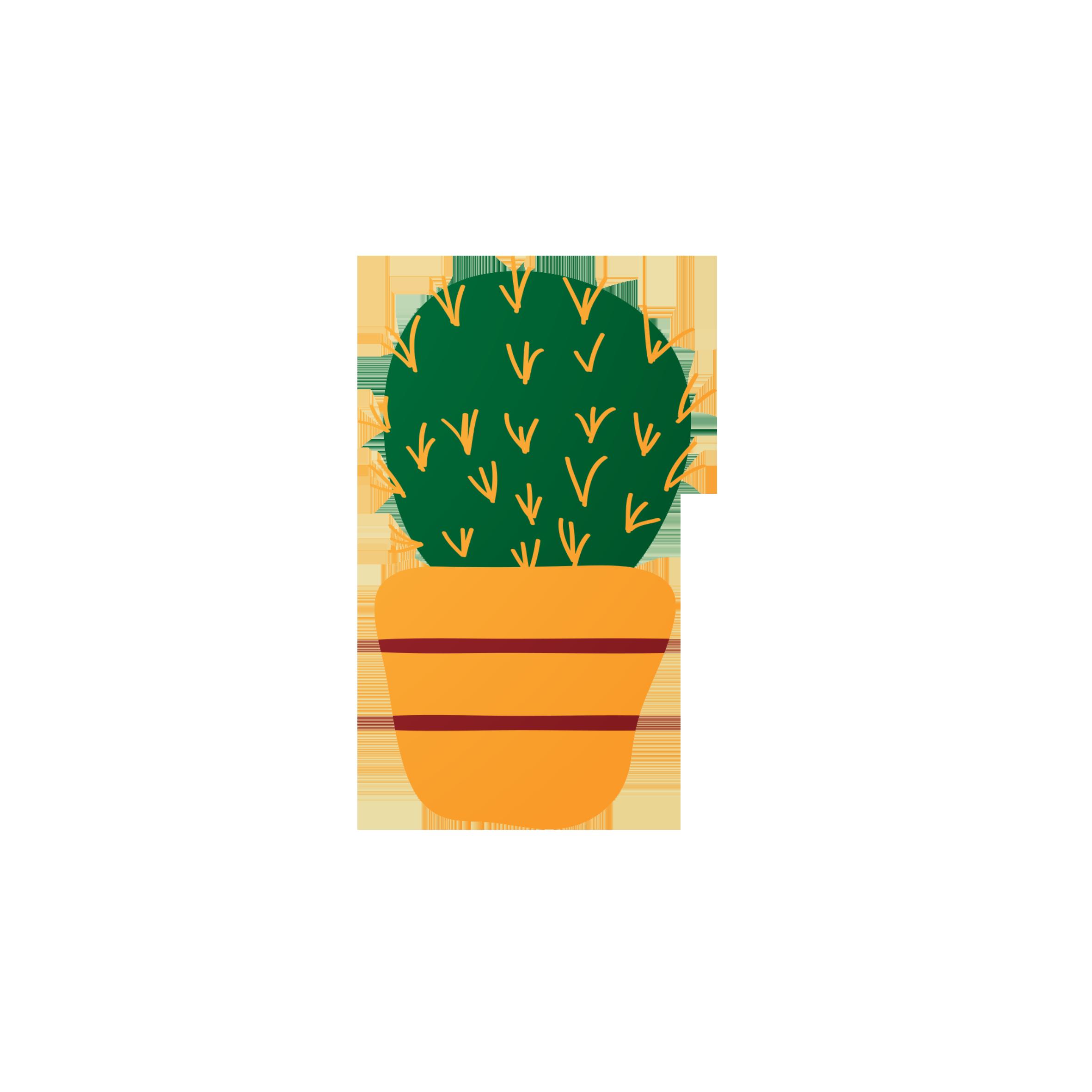 Succulent Clipart Potted Succulent, Succulent Potted