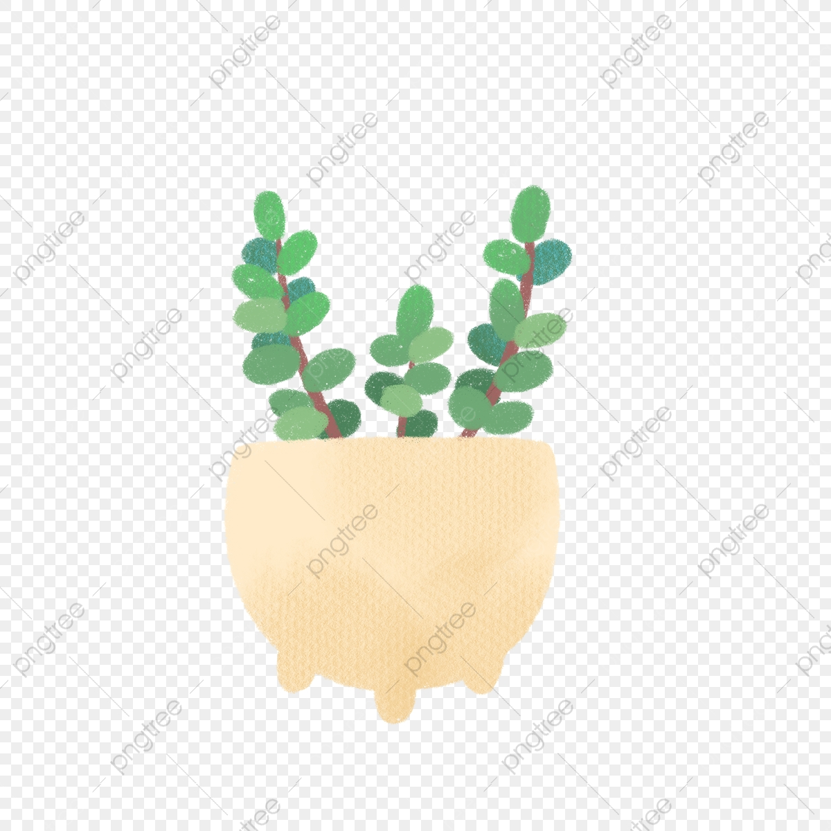 Succulent clipart round. Hand drawn succulents in