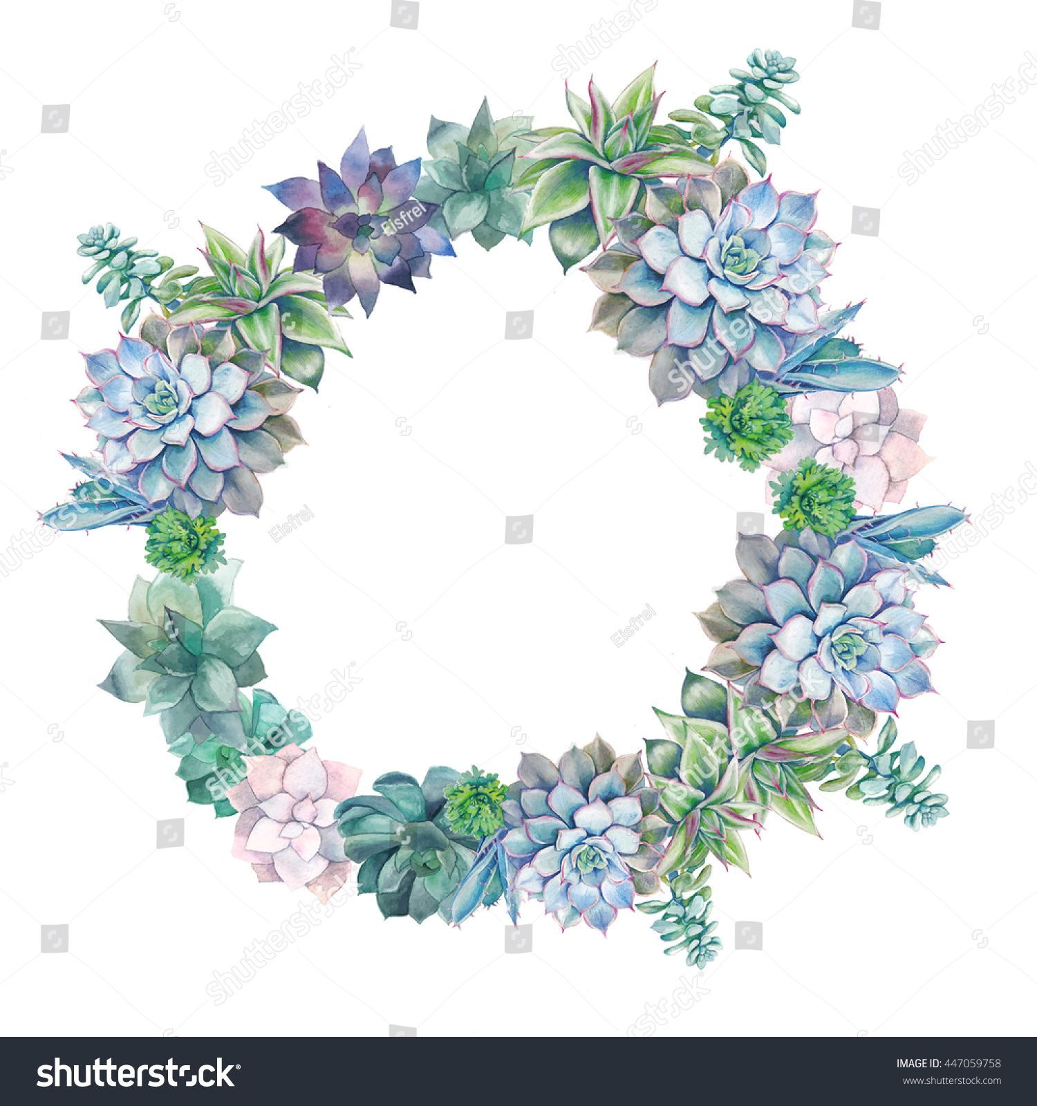 Pin on wedding ideas. Succulent clipart round