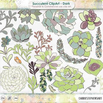 Succulent clipart succulent flower. Clip art plants png