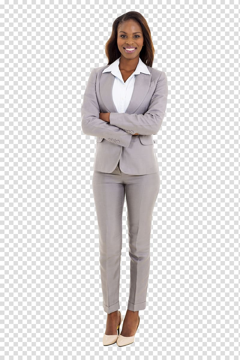 Suit clipart lady suit. Woman standing businessperson african