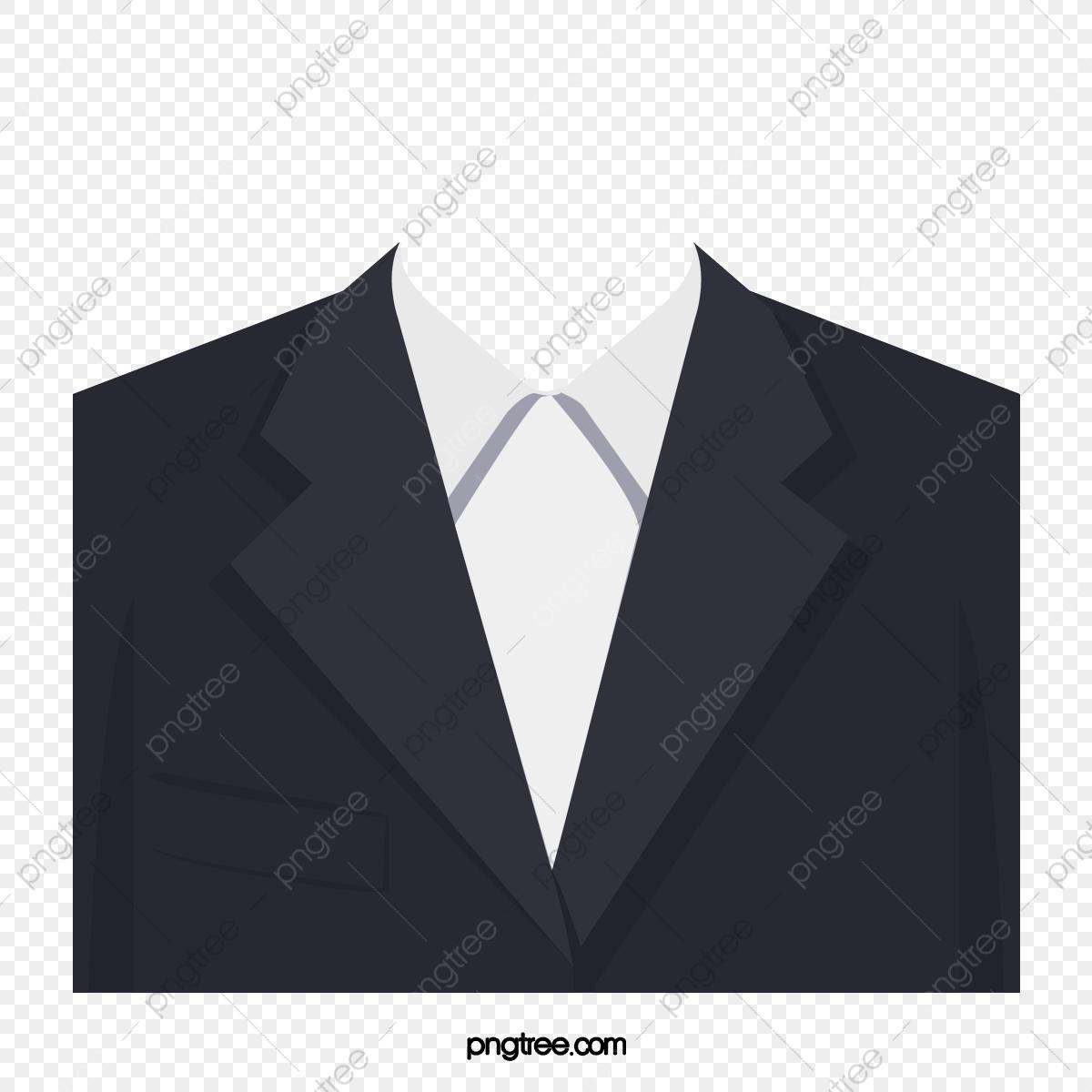 Black white png transparent. Suit clipart logo