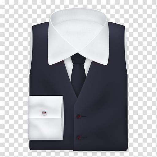 Executive black and necktie. Suit clipart suit vest