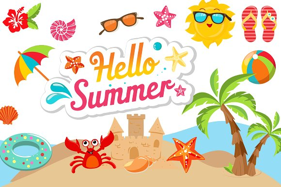 Summer clipart, Summer Transparent FREE for download on ...