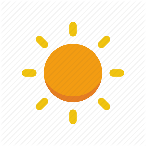 Flat icons by hello. Sun icon png