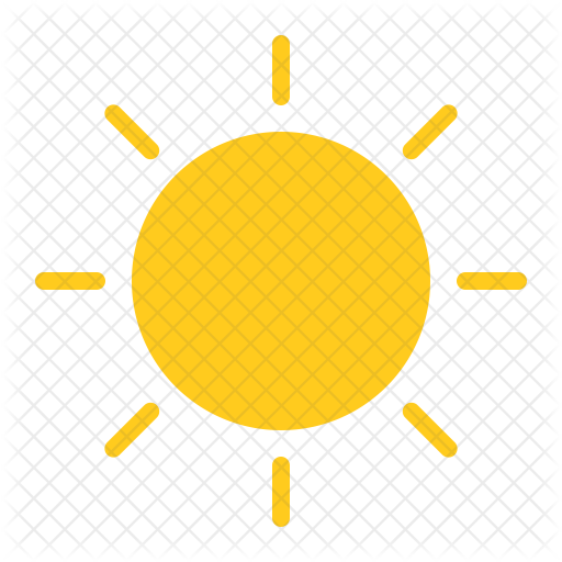 Weather seasons icons in. Sun icon png
