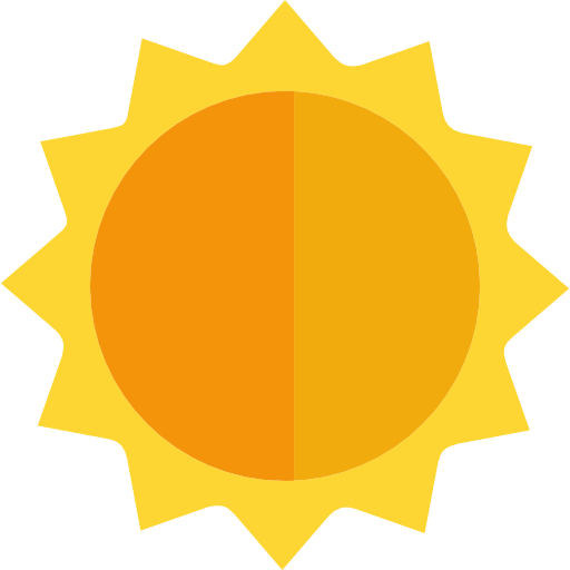 Free nature icons. Sun icon png
