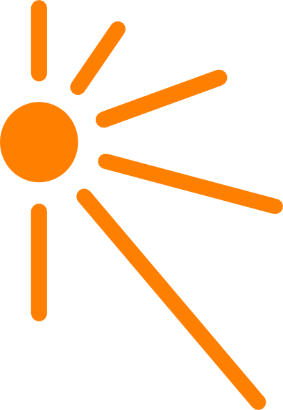 Sun vector png.  half for free
