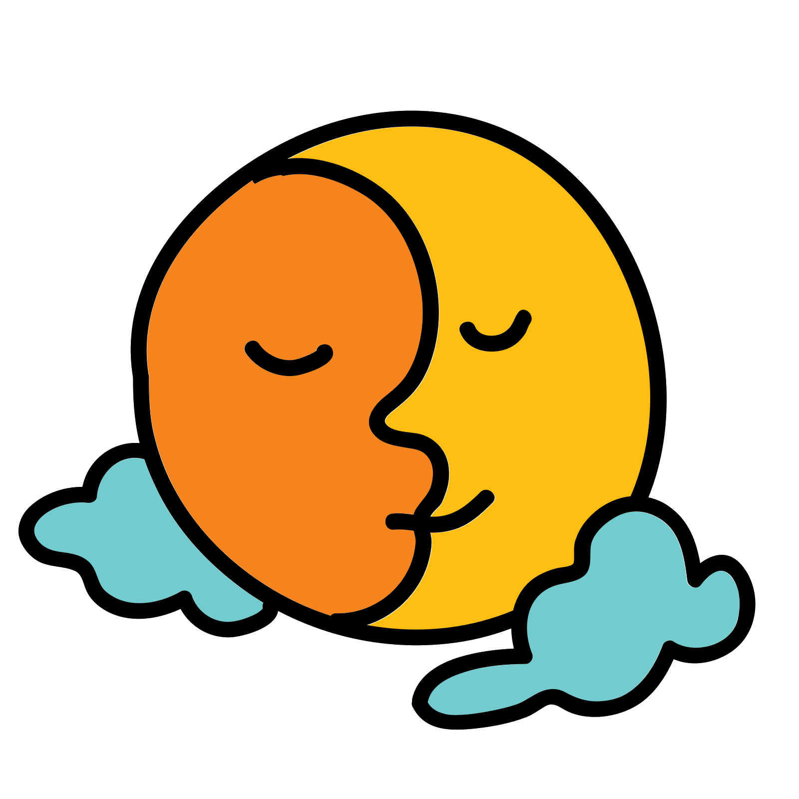 Sun vector png. Moon and icon free