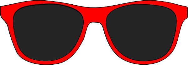 Black glasses sunglasses sunglass. Goggles clipart red glass