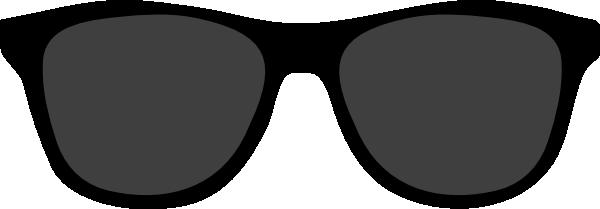 Sunglasses clipart. Black panda free images