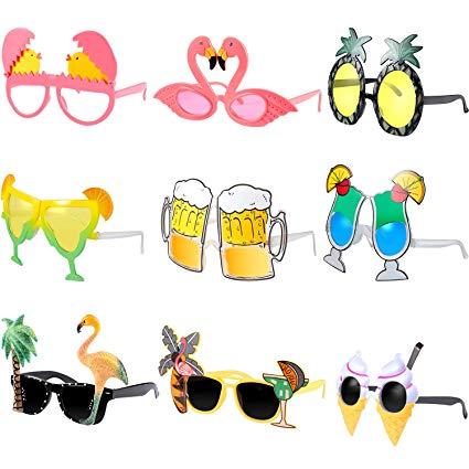 Hsei pieces hawaiian theme. Sunglasses clipart beach toy