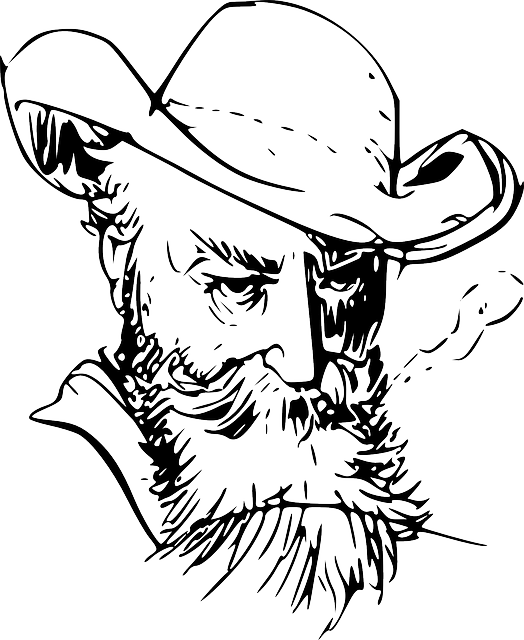 Sunglasses clipart bearded man. With beard drawing at