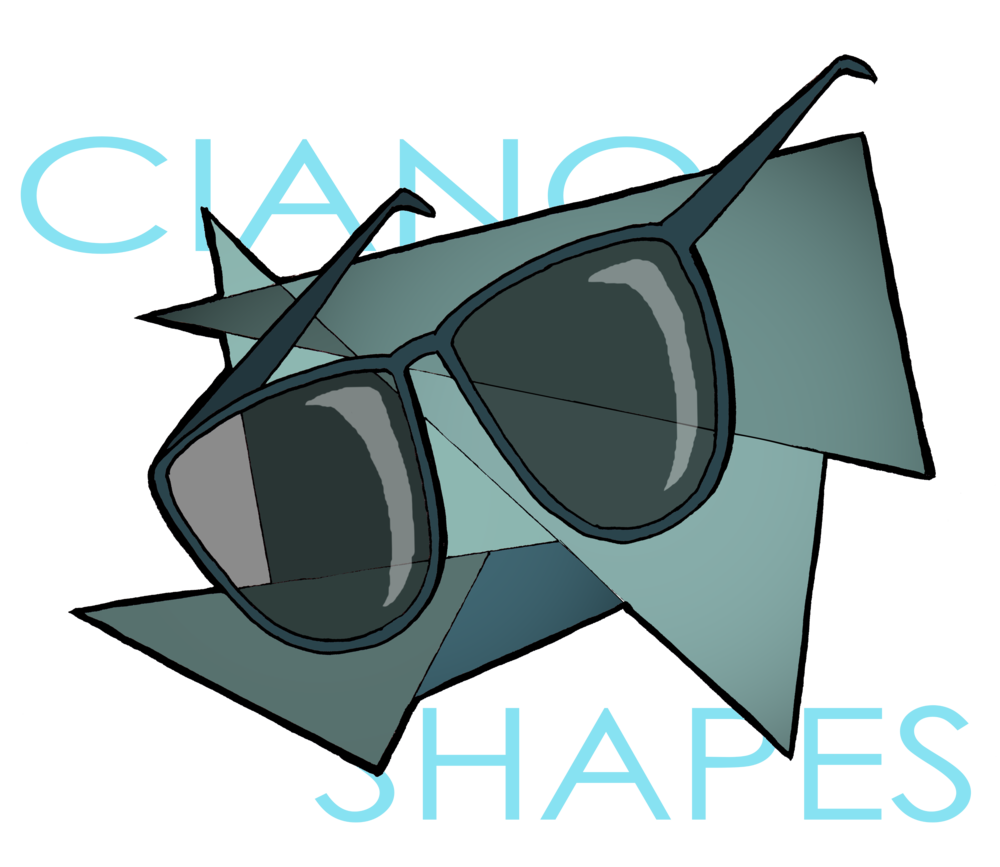 Sunglasses clipart circular. Young italian entrepreneur chooses