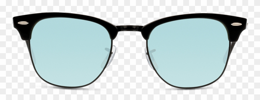 Eyeglass classic ray ban. Sunglasses clipart clubmaster