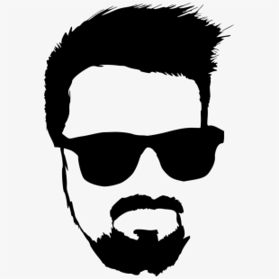 Beard hipster free png. Sunglasses clipart facial hair