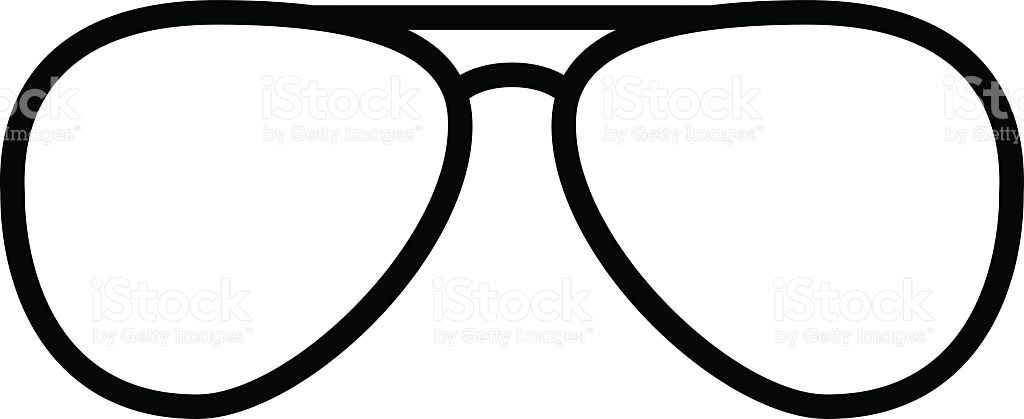 Collection of free download. Sunglasses clipart line art