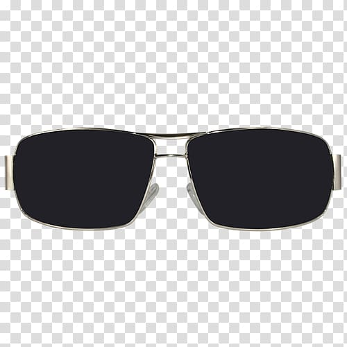 Sunglasses clipart mens sunglasses. Silver frame with black