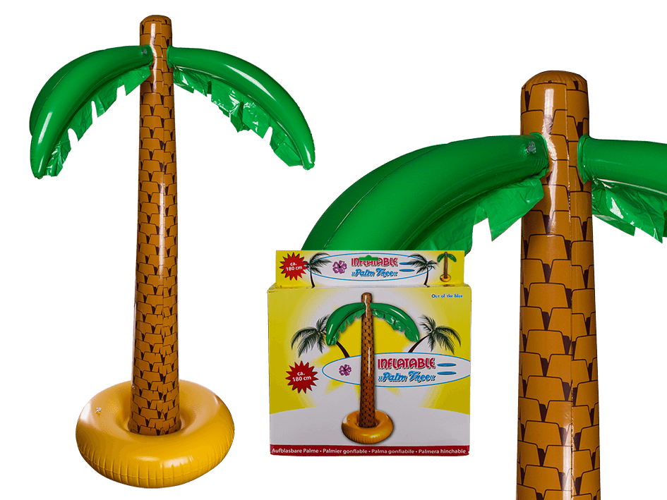 Sunglasses clipart palm tree. Inflatable out of the