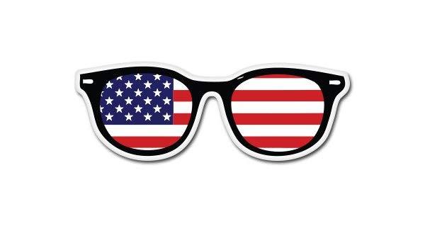 Amazon com american flag. Sunglasses clipart patriotic