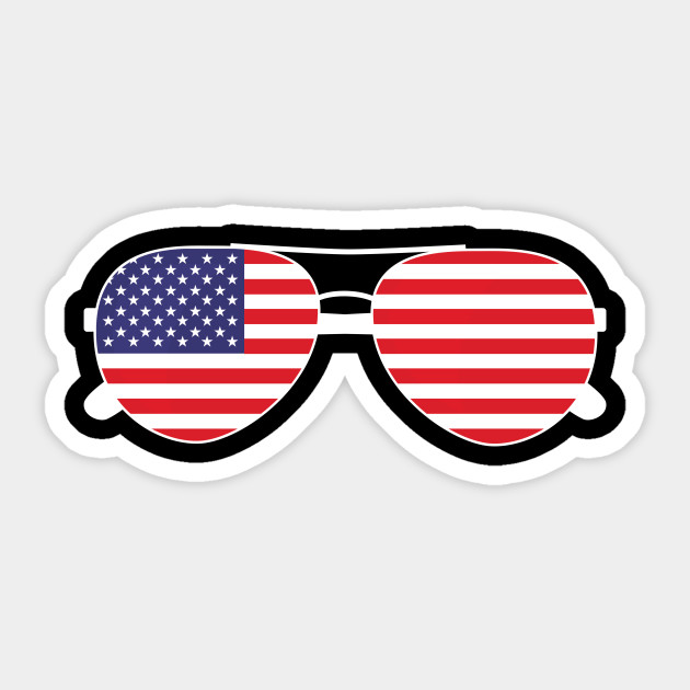 American flag usa t. Sunglasses clipart patriotic