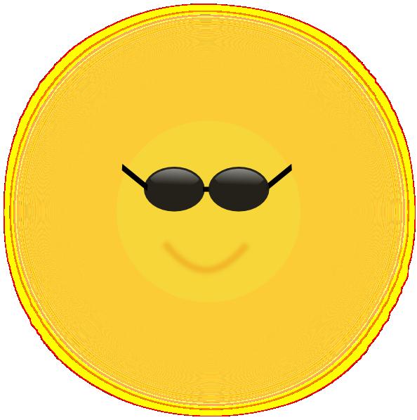 Cool sun clip art. Sunglasses clipart small